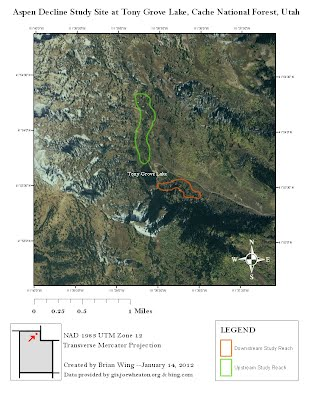 how to read a topographic map and delineate a watershed